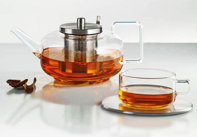 Jenaer Glas tea set upr